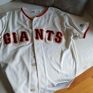 Majestic SF Giants Baseball Jersey